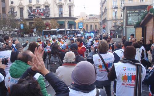 Manifestación TeleMadrid